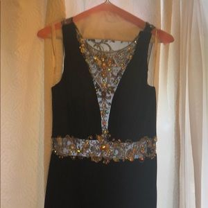 Tony Bowls evening gown Navy Size 8